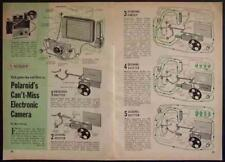 How the POLARIOD AUTOMATIC 100 works 1963 Land Camera pictorial