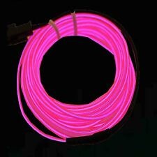 1 2 3 4 5 6 Neon Light Glow EL Wire Led Tube Car Dance Party Bar Decoration 9ft
