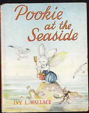 POOKIE AT THE SEASIDE - IVY WALLACE     FIRST EDITION