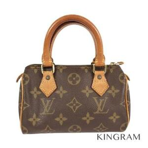 LOUIS VUITTON Monogram Mini Speedy M41534 PVC Women's handbag from Japan