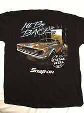 Snap-on Tools Men's Size 3XL Vintage Steel series Graphic T-shirt (I'll be back)