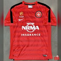 Nike Western Sydney Wanderers 14/15 Player Training Jersey. Size L, Exc Cond.