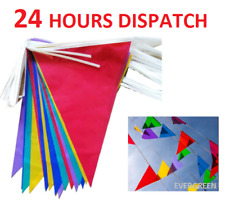 33 Feet 20 Flags Multi Colour Banner Bunting Party Home Garden Event Decoration