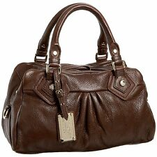 NWT- MARC BY MARC JACOBS Classic Q Groovee Satchel in Choclate Retail $498