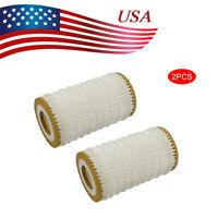 2 Pack Oil Filter Kit Engine 0001802609 Fit For Mercedes Dodge Chrysler Paper