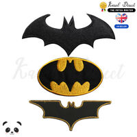 Batman Super Hero Movie Embroidered Iron On /Sew On Patch Badge For Clothes etc