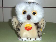 Steiff 072109 wittie 18 GUFO OWL Top Condizione vetrina Orsacchiotto oggetto da collezione