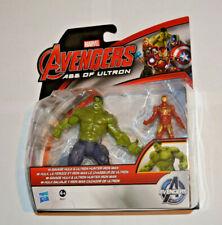 Hasbro Marvel Avengers / Savage Hulk & Ultron Hunter Iron Man B2477 beweglich