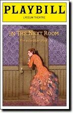 Color Playbill In the Next Room The Vibrator Play Laura Benanti Michael Cerveris