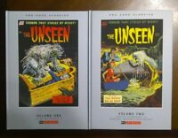 The Unseen Vol 1 & 2 Pre-Code Classics New Hardcover PS Artbooks Terror