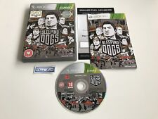 Sleeping Dogs - Microsoft Xbox 360 - UK - Avec Notice