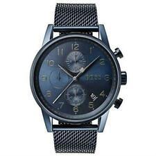 HUGO BOSS 1513538 Navigator GQ Edition Men's Chronograph Watch - Blue