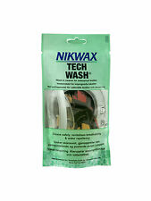 NIKWAX TECH WASH TECHNICAL WASH IN CLEANER FOR WATERPROOF TEXTILES 100ML