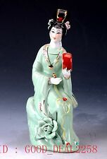 Chinese Porcelain Handmade Beauty Pattern Statue RC011