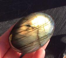 Labradorite Palmstone (Madagascar) 63g 60mm Flash Shamans Stone Chakras LPS8