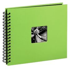 Large Spiral Bound 36 x 62 cm Photo Album Case Book 50 Pages 6x4 '' Kiwi Green