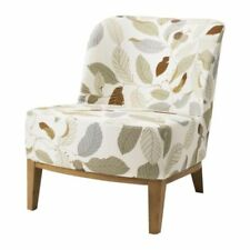 IKEA Cover IKEA STOCKHOLM Easy Chair Blad Brown Leaf  pattern SLIPCOVER 10109387