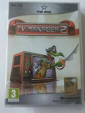 TV Manager 2 PC  EDIZIONE ITALIANA SIGILLATO