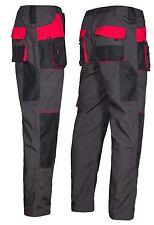 Pantaloni da lavoro uomo stile militare Abbigliamento Knee IMBOTTITURE TASCHE