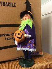 BYERS Choice Witch Girl  retired 2003