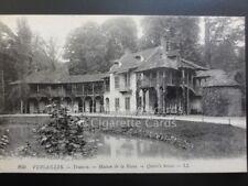 VERSAILLES, Trianon, Maison de la Reine, Queen's House, Old PC by LL.260  140515