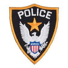 Police Shield Eagle Patch, Law Enforcement Patches