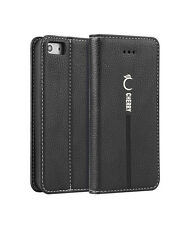Luxury Magnetic Flip Cover Stand Wallet Leather Case For  iPhone 5 6s 7 8 Plus