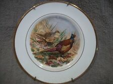 Vintage Pall Mall Ware England Porcelain Bone China Decorative Pheasant Plate
