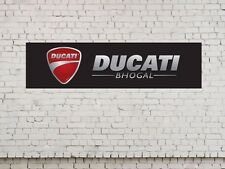 DUCATI logo workshop, garage, office or showroom pvc banner