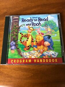 Disney's Ready to Read With Pooh (WIN/MAC, CD-ROM, 1997) BOOKLET JEWEL CASE