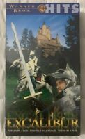 1981 Excalibur VHS Nigel Terry, Helen Mirren, Nicol Williamson Fantasy Brand New