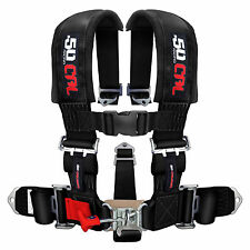 50 Caliber Racing 5 Point 2 in Race Seat Belt Safety Harness Polaris RZR XP1000