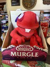 Blizzard World of Warcraft Red Murgle Murloc Plush Stuffed Animal NIB