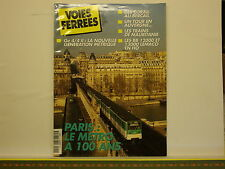 Revue VOIES FERREES 120 - Baie de Somme Metro Construire Bureau Ambulant O & HO