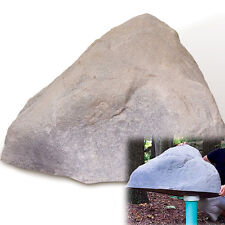 DekoRra Fake Rock 101Rb Riverbed -Decorative Well Cover Rock -Easy To Use