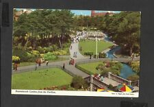 John Hinde Colour Postcard Gardens from the Pavilion Bournemouth Posted 1976