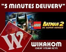 Lego batman 2 dc super heroes pc [steam cd key] no disc/box, region free