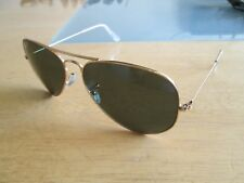 Ray Ban gold frame polarized aviator sunglasses. RB 3025 001/58.