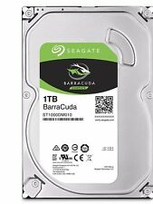 HARD DISK INTERNO 3,5 1TB SEAGATE BARRACUDA ST1000DM010 PRESTAZIONI TOP CC43