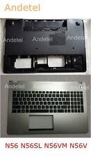 Asus N56 N56SL N56VM N56V Base Cover Lower Bottom + Keyboard Palmrest Upper Case