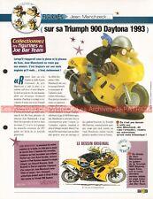 TRIUMPH 900 Daytona 1993 Joe Bar Team Fiche Moto #007723