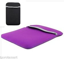 "PURPLE BAG Neoprene Sleeve Protect Case Pouch Bags F0r 7"" 7 Inch Android Tablet"
