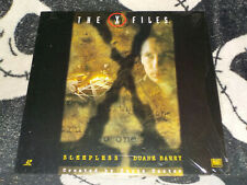 X-Files Sleepless/ Duane Barry Laserdisc LD Free Ship $30