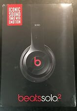 Beats by Dr. Dre Solo2 Headband Headphones Wired - Black Brand New Sealed