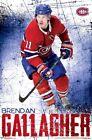 BRENDAN GALLAGHER - MONTREAL CANADIENS POSTER - 22x34 - NHL HOCKEY 16520