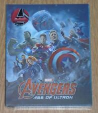 Avengers: Age of Ultron (blu-ray) Steelbook - novamedia (Lenti). NEW & SEALED