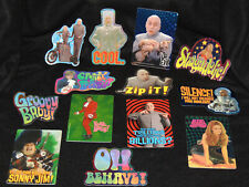 Austin Powers Series 1 Stickers Set of 13 - 1999 Rare Die-Cut Prismatic Set New