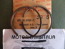 FASCE SEGMENTI AC PISTON RING KOLBENRING MM 39,6 X 2 MORINI VESPA MINARELLI