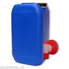 15 L Wasserkanister mit AFT-Hahn DIN61Trinkwasser Behälter NEU (1x22246+1x22010)