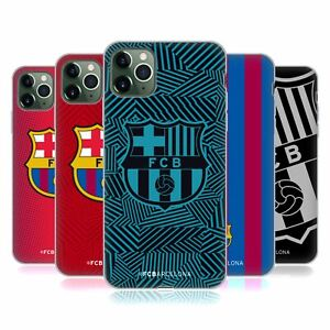 OFFICIAL FC BARCELONA CREST SOFT GEL CASE FOR APPLE iPHONE PHONES